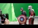 Съемки фильма Первый Мститель Противостояние (Гражданская война) Filming Captain America: C