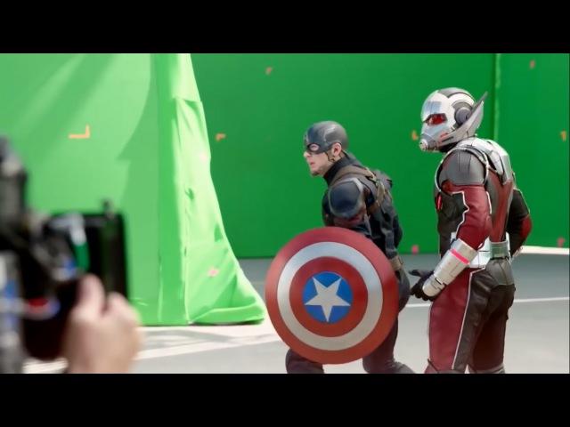 Съемки фильма Первый Мститель Противостояние (Гражданская война) Filming Captain America: C...