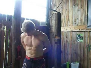 Weighted pullup @45kg