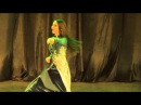 Persian Music - Bandari dance by Ukrainian girl 2015