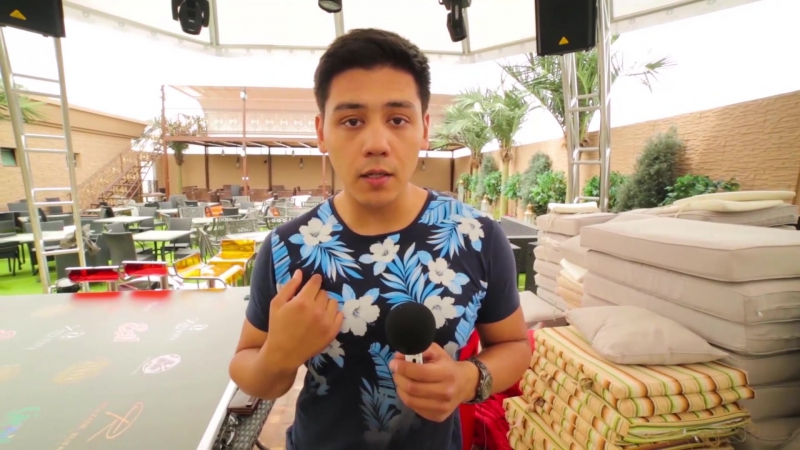 Zaman Terrace 2016 - Interview in Ashgabad