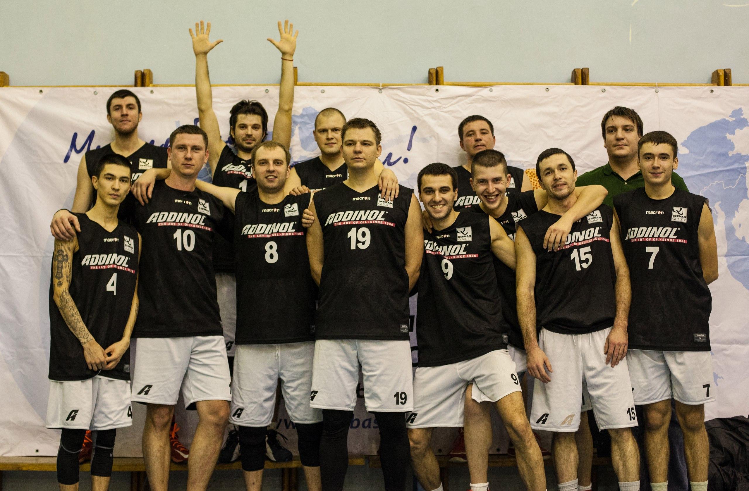 ADDINOL Краснодар баскетбол