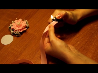 Браслет Канзаши _ Канзаши Мастер Класс _ Kanzashi Hand Made