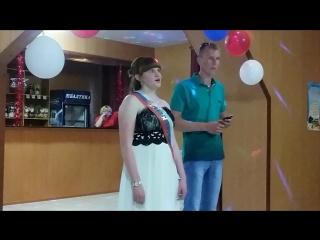 Выпускной( Линейцева Екатерина и Рублев Дмитрий)