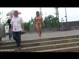 Monic Nude in Public 4