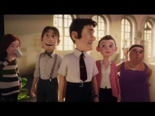 Добрый рекламный мультик про рождественскую лотерею