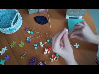 Цветочные миниатюры из фоамирана мастер-класс