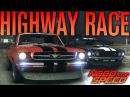AMERICAN MUSTANG HIGHWAY BATTLE   Need for Speed 2015 w/ The Nobeds