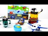 Видео для детей: робот ВАЛЛИ.  Развивающие игры: Пазлы - Транспорт для детей. Wall E