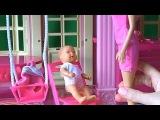 Мультфильм для девочек, куклы для детей, серия 33, Штеффи оставила на Барби  малышку Mini Baby Born
