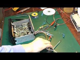 Ремонт CD-TFT- автомагнитолы модель PM8062A. Нет звука. Окончание.