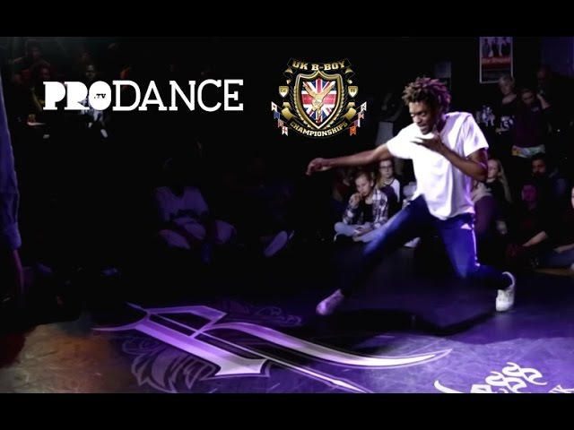Sharifa vs Nikel Yudat | Hip Hop | UK B BOY CHAMPIONSHIPS 2016