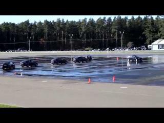 Показательные выступления водителей гаража особого назначения ФСО России