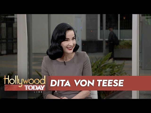 Dita Von Teese's Beauty Mark