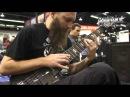 Warwick @ NAMM 2013 - Jeff Hughell and his Streamer 7-string