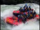 Bad day. White water rafting montage