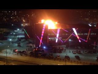 Пожар в кинотеатре Хабаровск 16.01.2016 часть 2