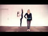 Как научиться делать шпагат в воздухе (Гранд Жете, Grand jete). Танцы Онлайн с Кристиной Мацкевич