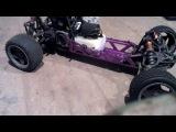 Baja 5b clone with rovan 26cc first start