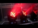 WOOHAH PRODUCTIONS- Clay Paky Aleda K10 LED Moving Head Light Demo