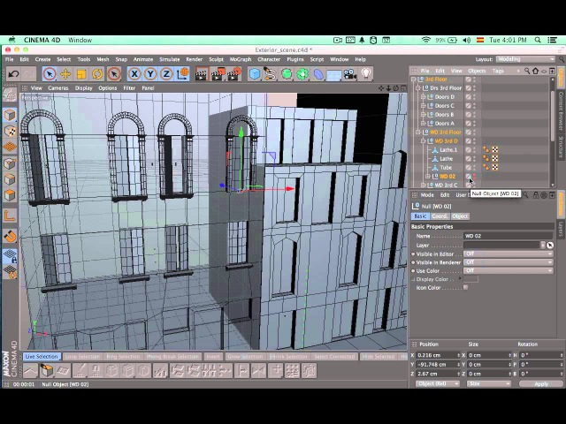 Tutorial: Environment Creation in Cinema 4D: Part 3-1