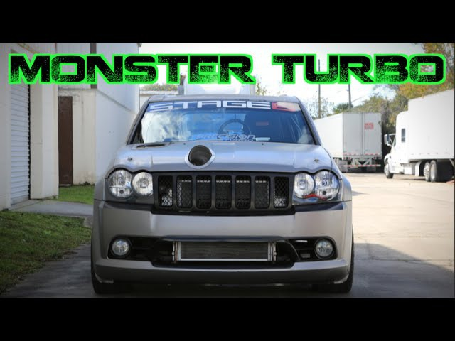 MONSTER TURBO 1300HP Jeep SRT8 AWD Beast