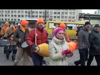 Харинама -санкиртана в Екатеринбурге. Полное видео 19.03.2016.