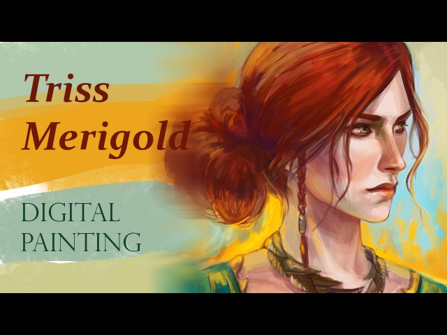 Triss Merigold - digital painting
