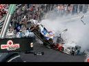 Подборка аварий на гонках, самые жестокие и зрелищные автокатастрофы, машины в д...