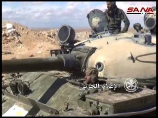 САА продолжает наступление на город Аль-Карьятайн, Хомс / 28.03.2016