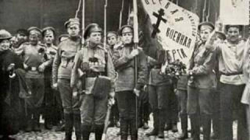 Проводы погибших юнкеров Жанна Бичевская