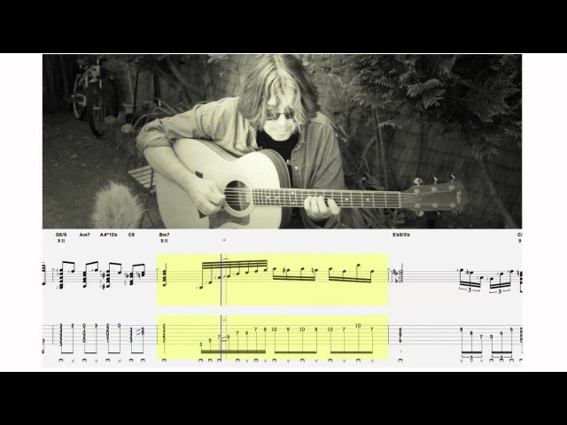 NUAGES (Django Reinhardt) -Guitar solo and tablature-