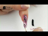 Дизайн ногтей. Шелковая вуаль