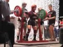 Julia Zaugolova squat 278 5 kg 613 lbs