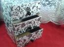 DIY : Cajonera/Organizador reciclando cajas