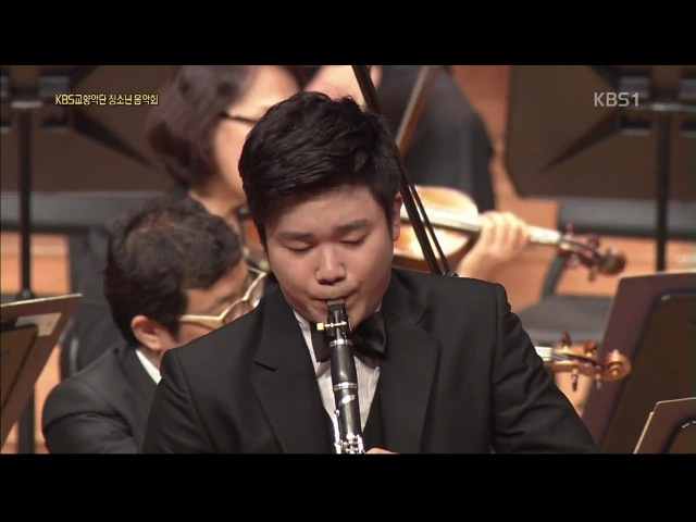 Han Kim plays G.Rossini's Introduction, Theme and Variations for Clarinet and Orchestra