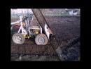 самодельная фреза на мини трактор