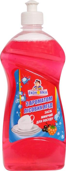 Засіб миючий для посуду з ароматом лісових ягід, Економка, 500 мл