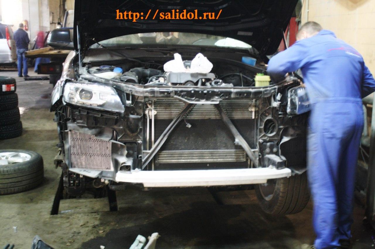 Ремонт машины на Ладожской