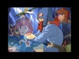 аниме мультфильм Навсикая изтдолины ветров трилер