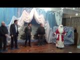 Дед мороз в детском саду. Конкурс с участием пап. Бронислав Стеклов