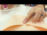Поделки из бумаги! КОНВЕРТ-ПТИЧКА для Лимоши! Видео для детей!