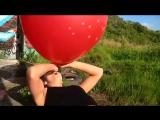 Giant RED BALLOON Jenni Nexus