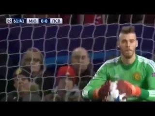 МАНЧЕСТЕР ЮНАЙТЕД   ПСВ 0 0 Обзор матча Лига чемпионов 25 11 2015