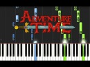 ADVENTURE TIME - Ultimate Piano Medley Synthesia Tutorial