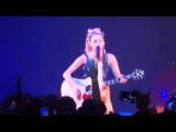 Miley Cyrus Singing A New Song for Her Upcoming Album The Milky Milky Milk Tour Detroit
