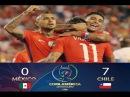 Mexico vs Chile 0-7 RESUMEN & Highlights [Copa America 2016]