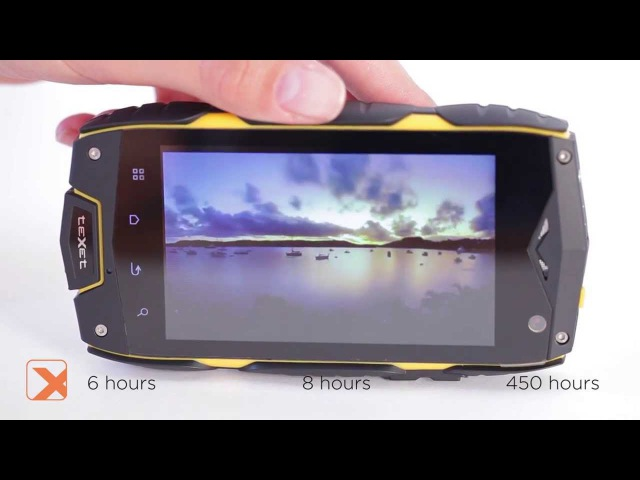 X-driver: защищенный смартфон, IP68