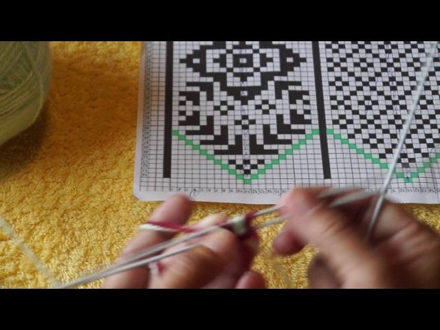 Вязание джурабов. Урок 1