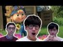 Реакция корейцев на клип Маша и медведь Корейские парни Korean guys
